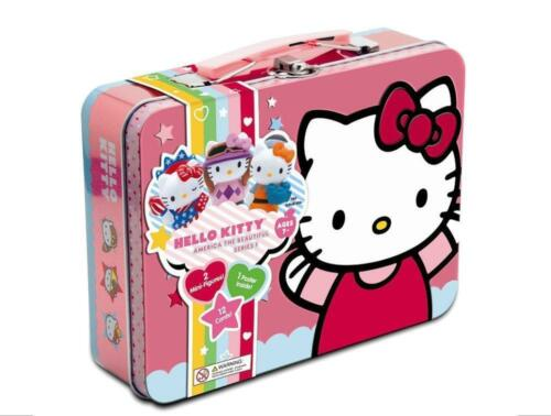 Hello Kitty America the Beautiful Series 1 Collectible Tin Lunch Box