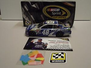 Jimmie Johnson 2015 #48 Lowes Proservices Dover Win Diecast 1:24