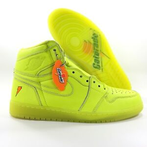 discount shop buy best buy cheap Details about Nike Air Jordan 1 Retro HI OG G8RD Gatorade Lemon Lime  AJ5997-345 Men's 11.5