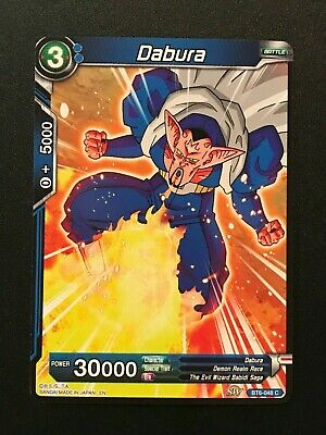 Dragonball Super Blue Dabura BT6-048 C Common