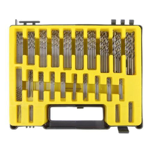 150Pcs 0.4mm-3.2mm Mini Micro Power Twist Bit de foret Mini Mini Precision