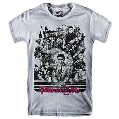 THE TWILIGHT ZONE T-shirt serial Tv Rod Serling - dvd, blu ray disc,vhs,magazine