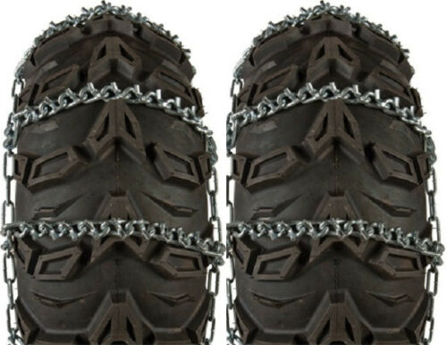 Sedona Pair V-Bar Snow Tire Chains ATV 22x10-9 22x11-9 22x10-10 22x7-10 22x9-10