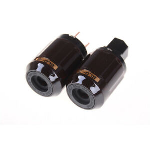 Gold-Plated-C-079-IEC-Female-P-079-Male-US-Power-plug-Audio-Connector-Hifi-Y-bn