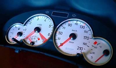 3x Ring D Austin Rover Mini Chrom Ringe für den Tacho Edelstahl poliert