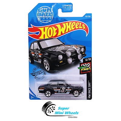 HOT WHEELS 2019 HW RACE DAY /'70 FORD ESCORT RS1600 #6//10