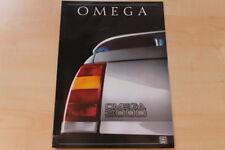 84171) Opel Omega A 3000 Prospekt 08/1988