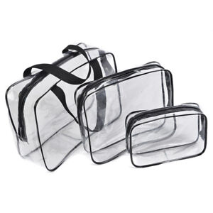Clear-Waterproof-Cosmetic-Toiletry-PVC-Organizer-Zip-Travel-Makeup-Bag-Pouch-Kit