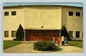 Chrome-View-of-College-Park-Auditorium-Jackson-MS-Postcard-X26