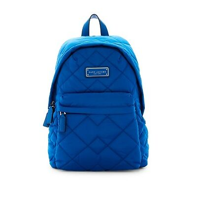 Marc Jacobs Quilted Nylon Backpack Blue Salton Sea New With Tags