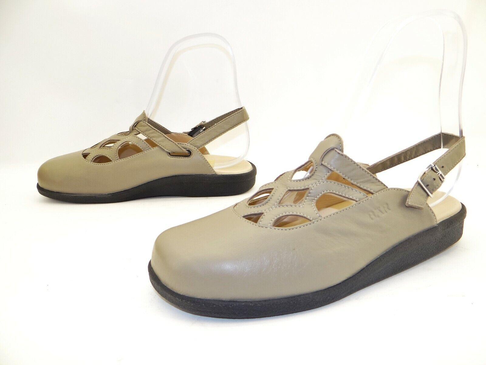 BÄR Damen Sommer Schuhe Ballerinas Pantoletten Sandalen Barfuß Gr. 41,5  UK  7,5