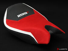DUCATI 1199 S PANIGALE DP PERFORMANCE RIDER  SUEDE SEAT COVER COVERS LUIMOTO