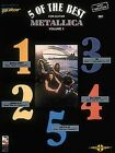 Metallica: 5 of the Best - For Guitar with Tablature: v. 1 by Charles Frederick Carter (Paperback, 1990)