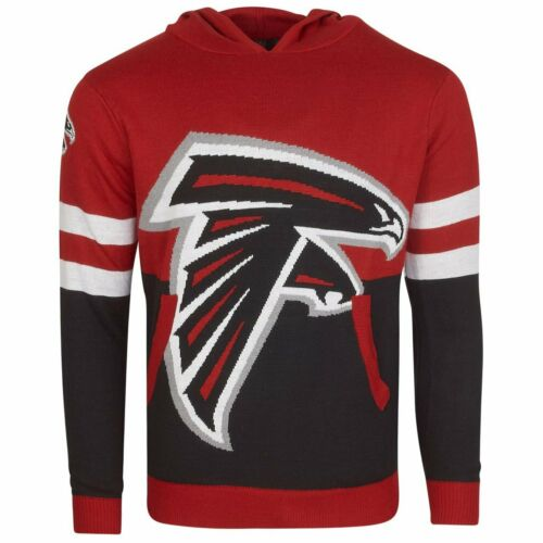 Atlanta Falcons NFL Ugly Sweater Big Logo Strick Hoody