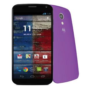 Motorola-MOTO-X-32GB-Black-Purple-Unlocked-Smartphone-Very-Good-Condition