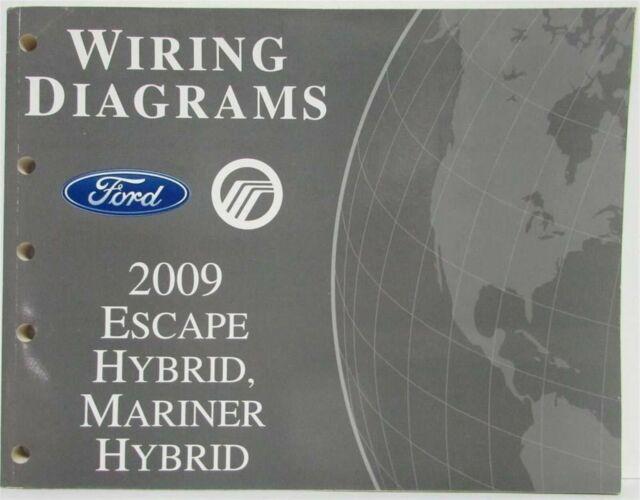 2009 Ford Escape  U0026 Mercury Mariner Hybrid Electrical