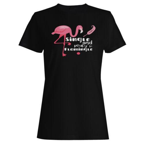 Unique et prêt à flamingle Femmes T-shirt//Débardeur hh147f