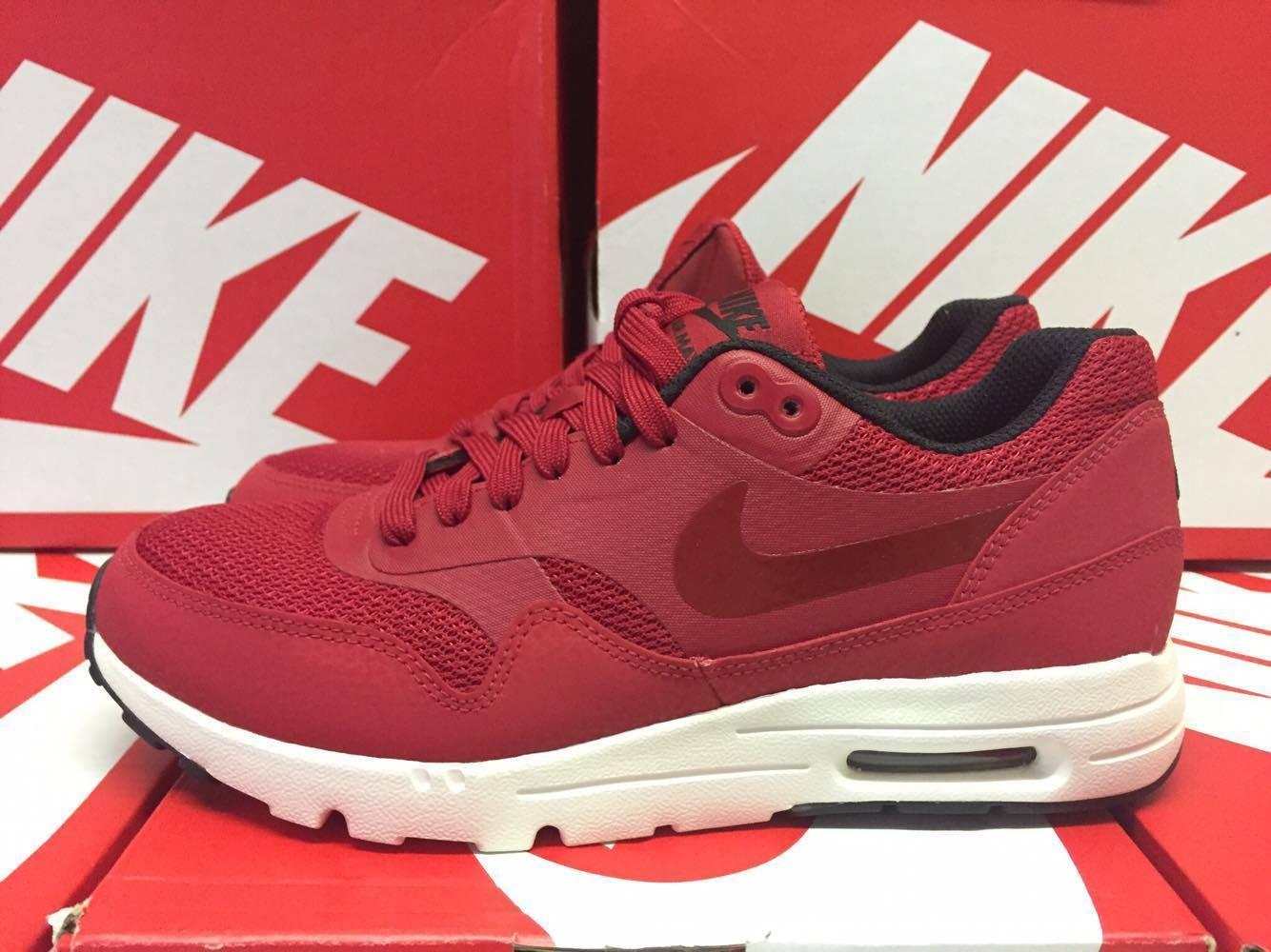 Nike Air Max 1 Ultra Essentials ROT Running Damenschuhe UK 5 EUR 38.5 ROT Essentials 704993 600 f56af5