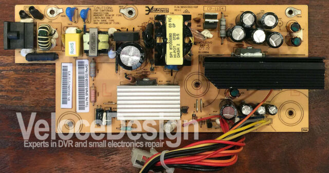 TiVo Series 3 HD OLED Power Supply TCD648250B - Professional Rebuild Service