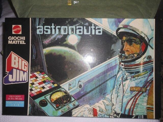 Game in Box Mattel Big Jim Astronaut Fund Inventory Vintage Toys New