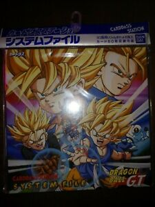 Vintage-Dragon-Ball-GT-Cardass-Station-card-file-New-never-opened-Bandai-1996