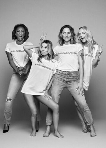 Je veux être une Spice Girl Femme Fille Adulte Enfant T Shirts Top Tour 2019 concert