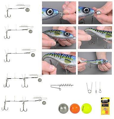 Spro Gummifisch angeln System Softbait Spiral Stinger Rig 7cm 7g