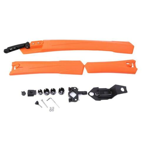 Bicycle Cycling Bike Front Rear Mud Guards Mudguard Fenders Set for Moutain Bike