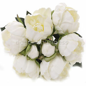 Roses-Peony-Peonie-Peonys-Bride-Wedding-Bouquet-Latex-Real-Touch-Pink-White