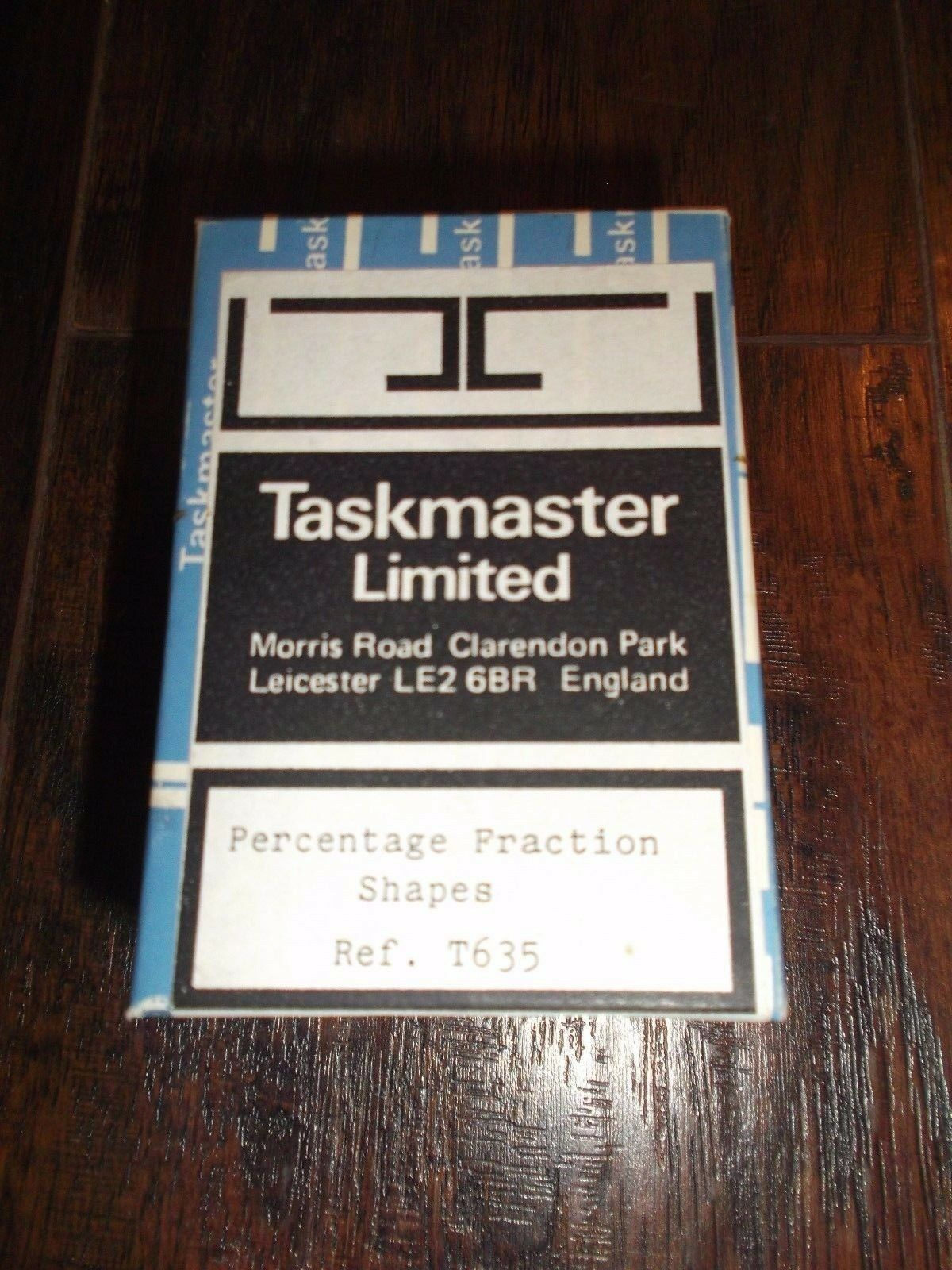 Taskmaster Limited Percentage Fraction Shapes Ref. T635 Learning Game