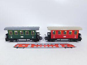 CR10-0-5-2x-Biller-Bahn-Billerbahn-Spur-0e-Blech-Personenwagen-520-sehr-gut