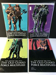 The-Old-Guard-Force-Multiplied-1-2-3-4-1-4-Rucka-Fernandez-Netflix-NM