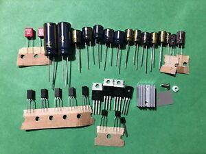Pioneer-SX-750-Hum-Repair-Kit-Capacitor-Upgrade-High-Quality-Receiver-Recap-Set