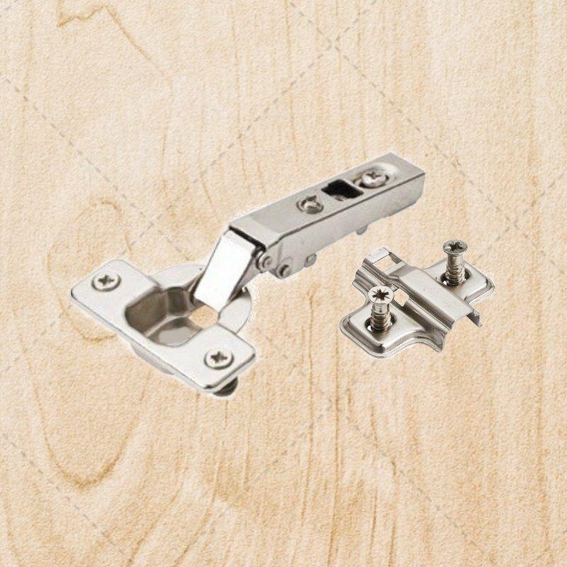 Self Closing Cabinet Hinges Full Overlay Concealed 110 deg deg deg w Plate hc00.0171.05 3ed6b9