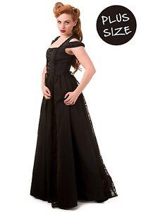Vestido negro con corset