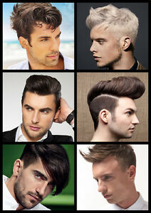 Mens hair collage hairdresser barber hair salon large for The barbershop a hair salon for men