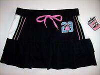 Bobby Jack Skort Girls Original Monkey 23 Sz 12-14 Large Black Layered