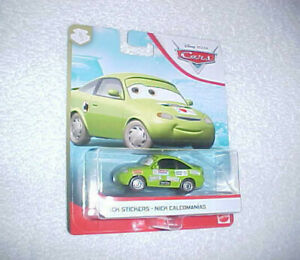 HW-DISNEY-PIXAR-CARS-034-NICK-STICKERS-034-VHTF-NEW-MATTEL-DIE-CAST-CAR