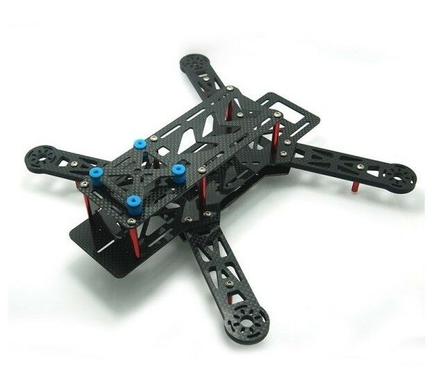 E-MAXX Nighthawk 250 Pro Quadcopter Quadcopter Quadcopter Aircraft Frame Kit bluee 7e37a6