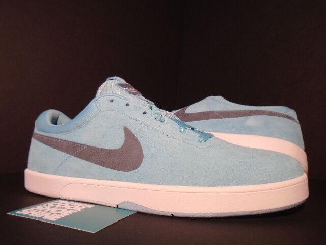 2011 Nike Dunk ERIC KOSTON SB PARADISE AQUA blueE SLATE GREY WHITE 442476-401 10