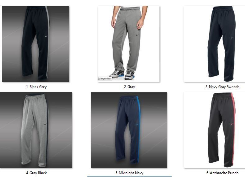 Nwt Herren Nike Therma Passform Ko Hose Knock Out Rauschen Style 379431 Choose