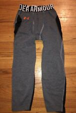 Under Armour Heat Gear Fitted Base Layer Leggings Youth Boys Size XL 1306064-487