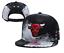 New-Hip-Hop-Men-039-s-Fiited-Baseball-Cap-Snapback-Caps-Unisex-Flat-Bill-bull-Hat-US thumbnail 5