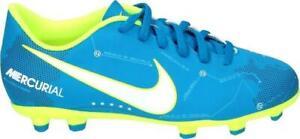 Details about Juniors Boys Nike Mercurial Vortex III NJR FG 921490 400 Football Boots Aqua