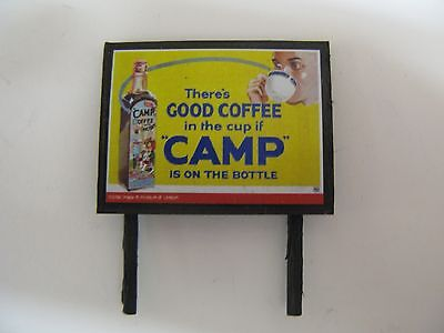 if Camp is on the bottle N /& OO Gauge Billboard There/'s Good Coffee