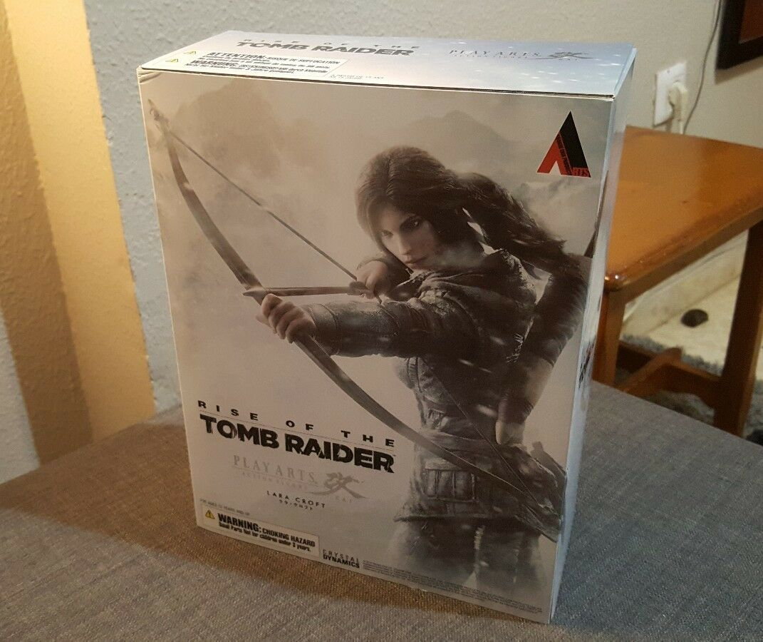 Lara croft Rise of the Tomb raider Play arts kai