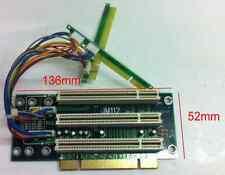 Universal 3x 5V 32Bit PCI 2U Riser Card.32 Bit Extender. JM112