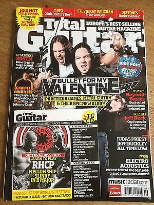 June 2010 Total Guitar magazine /& CD Volume 202