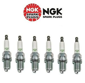 Set of 6 Acura RL Spark Plugs BKR5EN11 NGK V Power Resistor