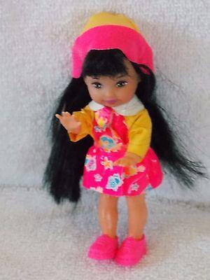 Barbie - Kelly - Jenny Doll With Rain Coat